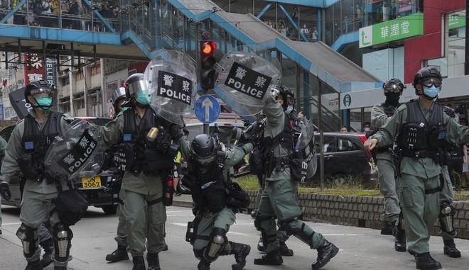 Διαδηλώσεις στο Χονγκ Κονγκ (AP Photo/Vincent Yu)