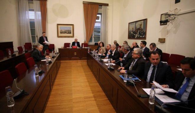 Συνεδρίαση της Εξεταστικής Επιτροπής της Βουλής για τα δάνεια σε πολιτικά κόμματα και ΜΜΕ την Τετάρτη 16 Νοεμβρίου 2016.  (EUROKINISSI/ΑΛΕΞΑΝΔΡΟΣ ΖΩΝΤΑΝΟΣ)