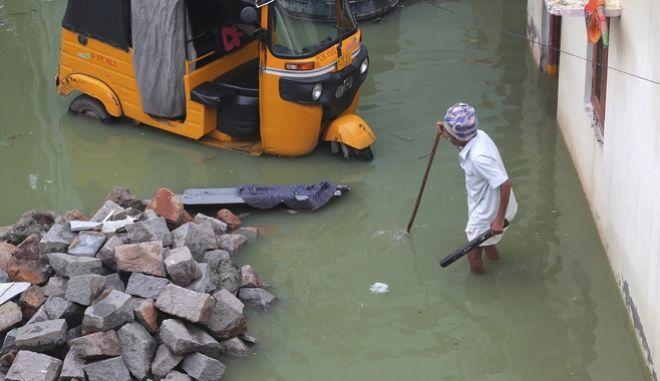 Πλημμυρισμένες γειτονιές.