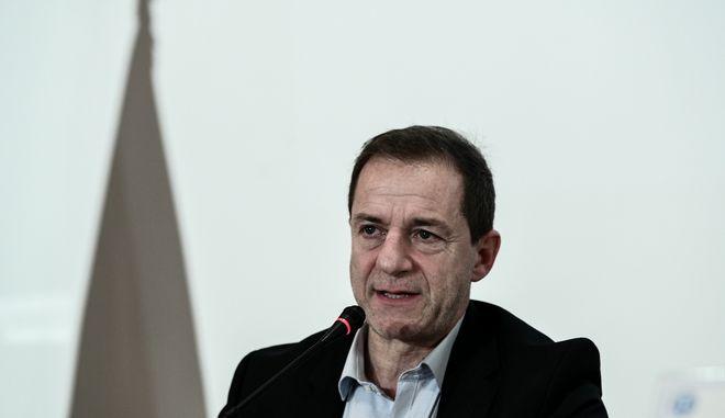 Ο Δημήτρης Λιγνάδης