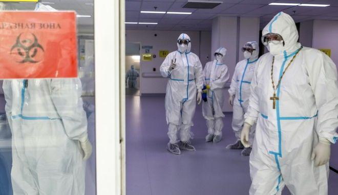 Γιατροί σε νοσοκομείο της Ρωσίας