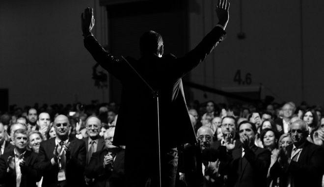 11ο τακτικό εθνικό συνέδριο της Νέας Δημοκρατίας, την Κυριακή 17 Δεκεμβρίου 2017. (ΓΙΑΝΝΗΣ ΠΑΝΑΓΟΠΟΥΛΟΣ/ EUROKINISSI)