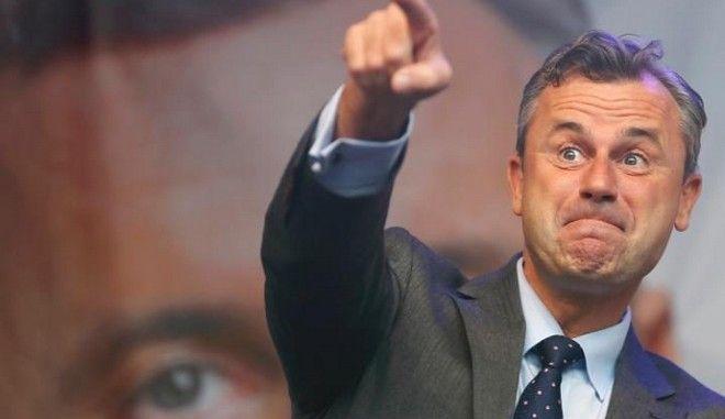 Ο υποψήφιος του ακροδεξιού Αυστριακού κόμματος ισχυρίζεται πως προσκλήθηκε από τον Τραμπ