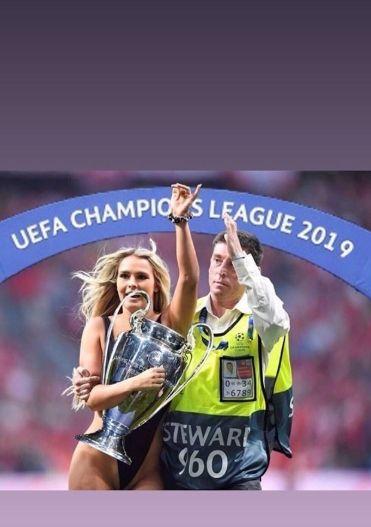 Champions League: Η Kinsey Wolanski έκανε την καλύτερη διαφήμιση της νέας εποχής