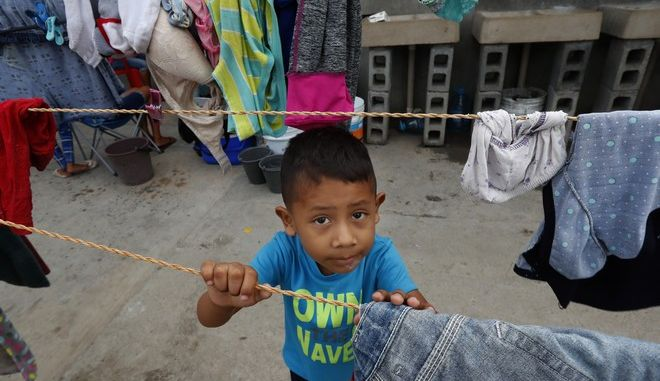Παιδί μεταναστών από το Μεξικό στις ΗΠΑ