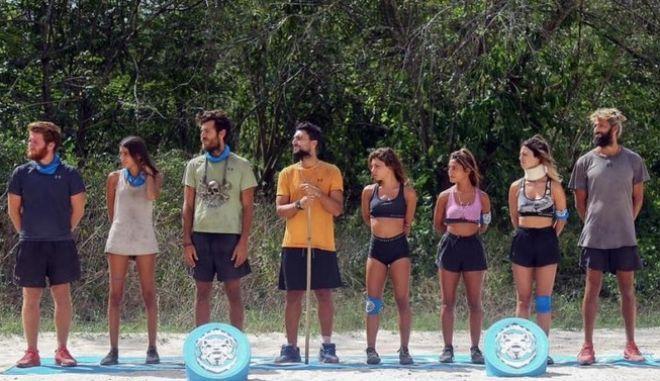 Survivor 4 - Η μπλε ομάδα