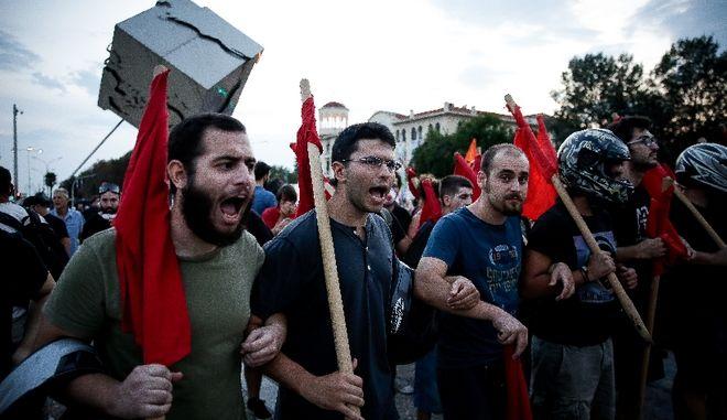 Ποιοι οργανώνουν τις πρώτες διαδηλώσεις στη Θεσσαλονίκη κατά την ομιλία του πρωθυπουργού