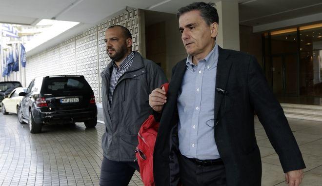 Συνεχίζονται οι διαπραγματεύσεις μεταξύ κυβέρνησης και θεσμών στην Αθήνα,προκειμένου να υπάρξει συμφωνία σε τεχνικό επίπεδο και να επικυρωθεί στο επόμενο eurogroup,Παρασκευή 1 Δεκεμβρίου 2017 (EUROKINISSI/Γιάννης Παναγόπουλος)