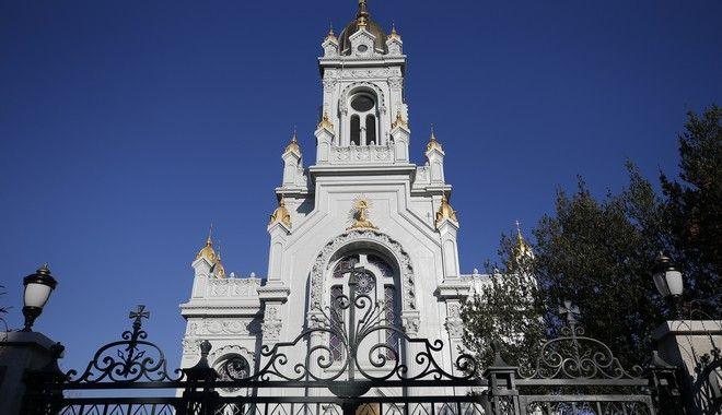 Historical Bulgarian Sveti Stefan Church, or