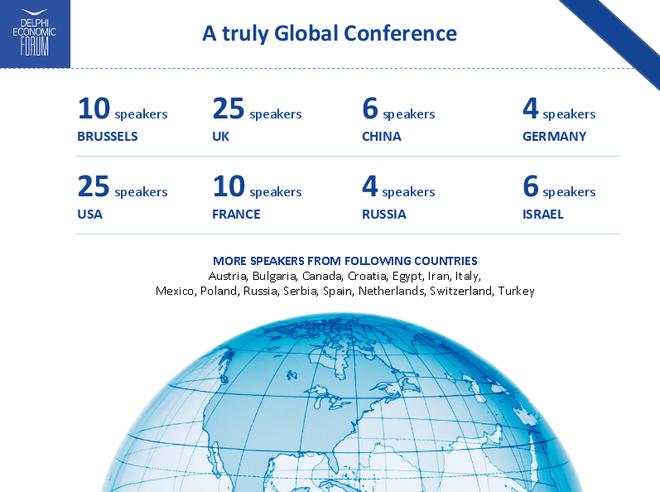 Αντίστροφη μέτρηση για το διεθνές Οικονομικό Φόρουμ των Δελφών