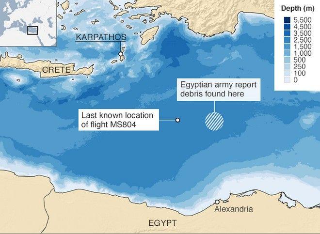 EgyptAir: Βρέθηκε το δεύτερο μαύρο κουτί της μοιραίας πτήσης