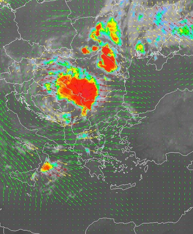 Έκτακτο δελτίο επιδείνωσης καιρού: Πού θα εκδηλωθούν καταιγίδες, χαλαζοπτώσεις και ισχυροί άνεμοι