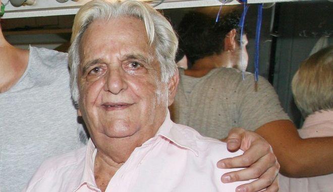 Ο ηθοποιός Μπάμπης Γιωτόπουλος