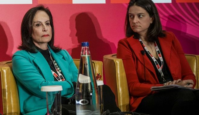 Άννα Διαμαντοπούλου και Νίκη Κεραμέως (Φωτογραφία αρχείου)