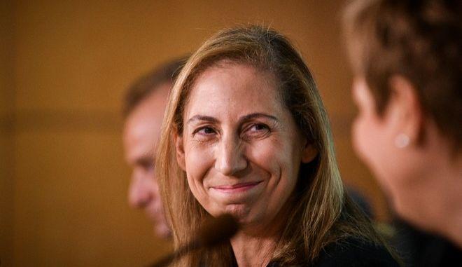Η νέα υπουργός Διοικητικής Ανασυγκρότησης, Μαριλίζα Ξενογιαννακοπούλου