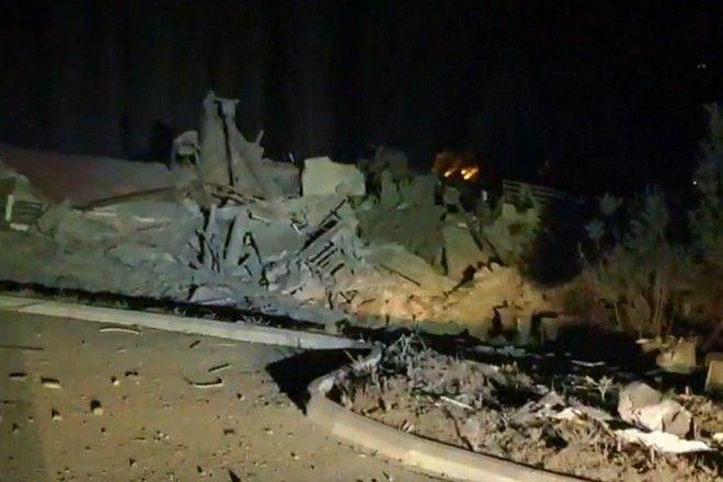 Ισχυρή έκρηξη κατεδάφισε το ξενοδοχείο