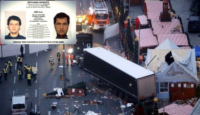 Επίθεση στο Βερολίνο: 'Πολύ πιθανόν' ο ύποπτος να είναι ο δράστης