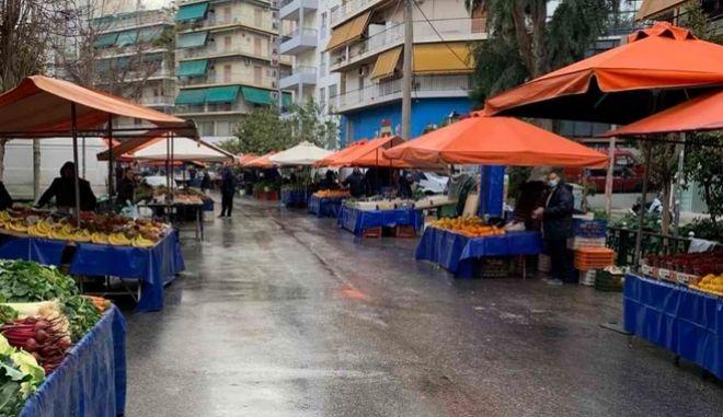 H Λαϊκή αγορά στου Ζωγράφου