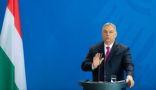 Ο Βίκτορ Όρμπαν, πρωθυπουργός της Ουγγαρίας.