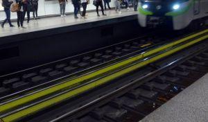 Στιγμιότυπο από σταθμό του μετρό