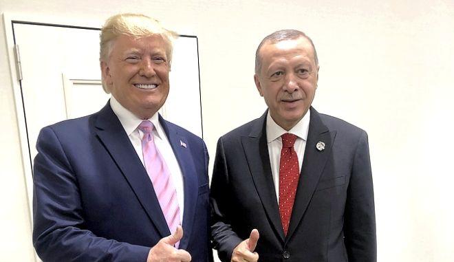 Ερντογάν και Τραμπ σε παλαιότερη συνάντησή τους