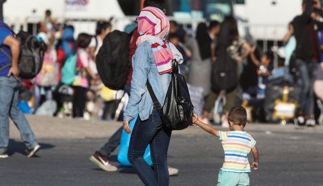 Πρόσφυγες στη Θεσσαλονίκη