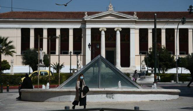 Αθήνα εν μέσω πανδημίας