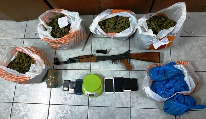Συνελήφθη διακινητής ναρκωτικών στον Άγιο Παντελεήμονα