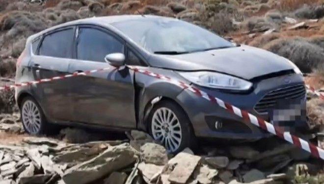 Το αυτοκίνητο του θύματος