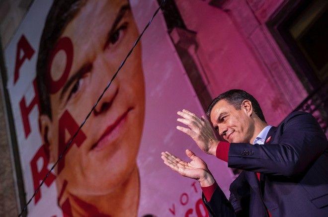 Εκλογές στην Ισπανία: Νίκη χωρίς πλειοψηφία για τους Σοσιαλιστές - Διπλασίασε τις έδρες του το ακροδεξιό Vox
