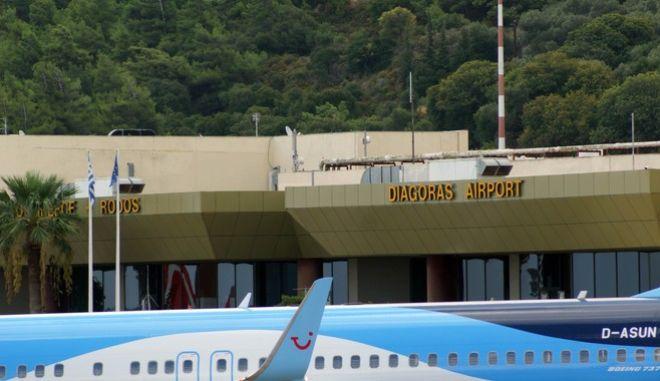 Αεροδρόμιο Ρόδου (EUROKINISSI/RODOSPRESS.GR/ΑΡΓΥΡΗΣ ΜΑΝΤΙΚΟΣ)