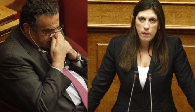 Χάος στη Βουλή. Αθανασίου: Καπηλεύεστε ένα θλιβερό γεγονός - Κωνσταντοπούλου: Τι κυβέρνηση είστε εσείς που χρησιμοποιείτε την ΕΛΑΣ για να επιτίθεστε στην κοινωνία;