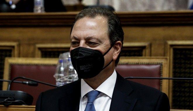 Ο υπουργός Αγροτικής Ανάπτυξης και Τροφίμων, Σπήλιος Λιβανός
