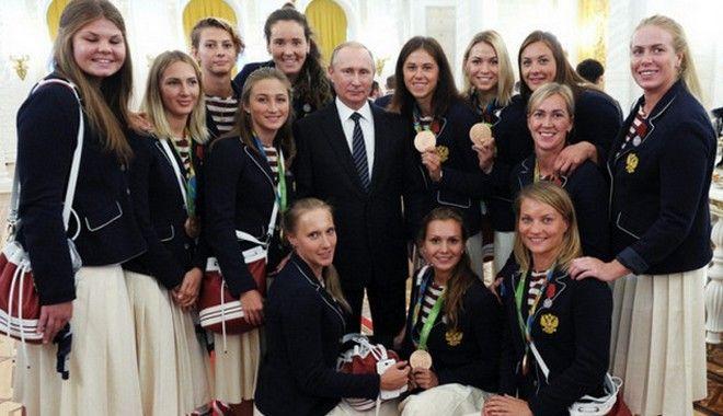 Ο Πούτιν 'χρύσωσε' τους Ρώσους Ολυμπιονίκες