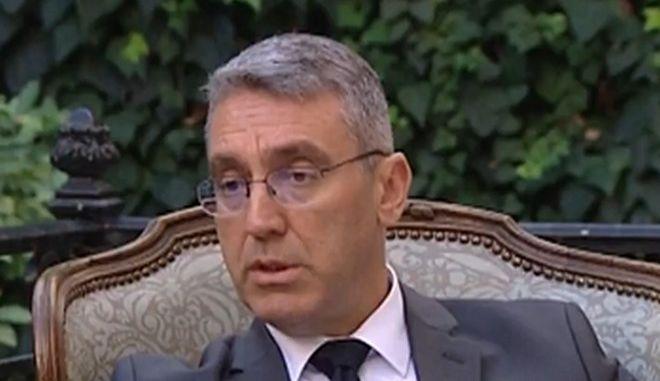 Ο Τούρκος πρέσβης Μπουράκ Οζουγκεργκίν