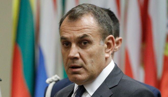 Ο υπουργός Εθνικής Άμυνας Νίκος Παναγιωτόπουλος