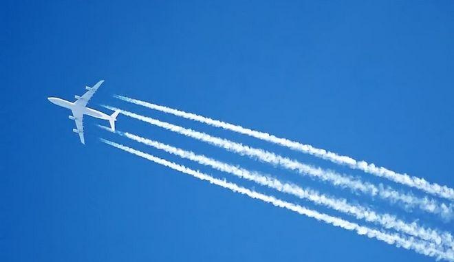Γραμμές στα αεροσκάφη: Κι όμως δεν ήταν contrails ούτε ψεκασμός!