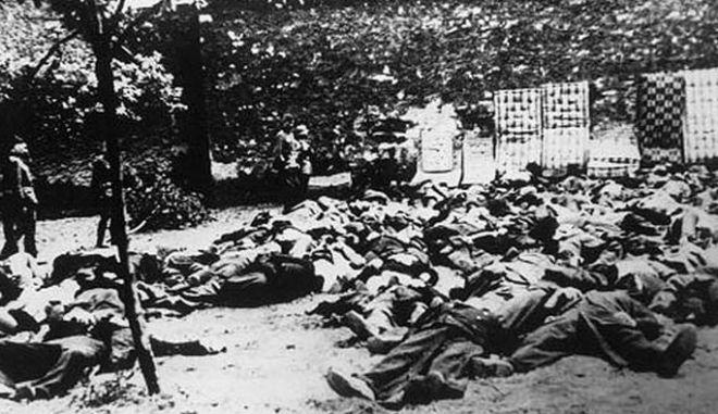 Η σφαγή στο Δίστομο