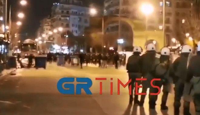Επεισόδια στη Θεσσαλονίκη