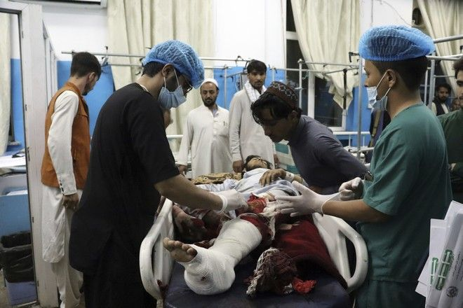 Τραυματίες σε νοσοκομείο της Καμπούλ μετά την επίθεση στο αεροδρόμιο της πόλης