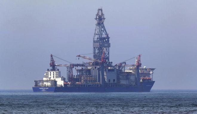Το πλωτό γεωτρύπανο Tungsten Explorer