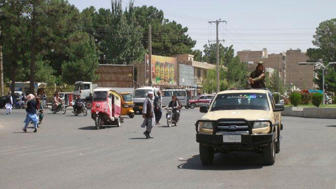Ταλιμπάν στην πόλη Χεράτ στο Αφγανιστάν