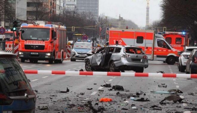 Έκρηξη βόμβας στο κέντρο του Βερολίνου