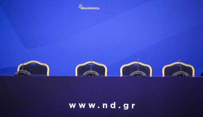 Πρωτοχρονιάτικα κάλαντα στον πρόεδρο της Νέας Δημοκρατίας Κυριάκο Μητσοτάκη το Σάββατο 30 Δεκεμβρίου 2017. (EUROKINISSI/ΣΩΤΗΡΗΣ ΔΗΜΗΤΡΟΠΟΥΛΟΣ)