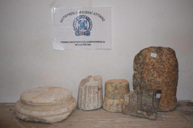 Συνελήφθη σε περιοχή της Λακωνίας 65χρονος ημεδαπός για παράνομη κατοχή αρχαίων κινητών μνημείων.
