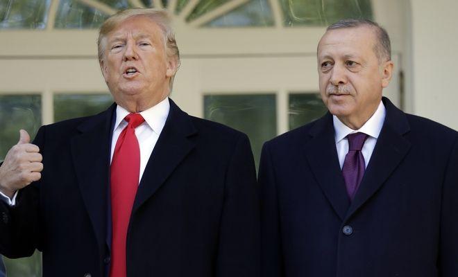 Ο Ν.Τραμπ και ο Τ.Ερντογάν