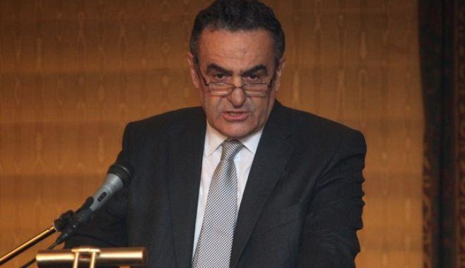 Στιγμιότυπο από την εκδήλωση για τα 55 χρόνια πό την ίδρυση της Ένωσης Δικαστών και Εισαγγελέων με ομιλητή τον υπουργό Δικαιοσύνης Χαρ. Αθανασίου την Παρασκευή 15 Νοεμβρίου 2013 (EUROKINISSI)
