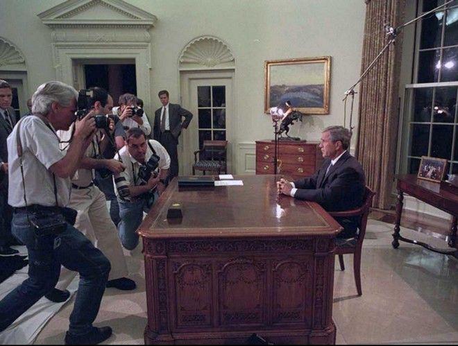 11η Σεπτεμβρίου: Οι ακυκλοφόρητες φωτογραφίες του Τζορτζ Μπους