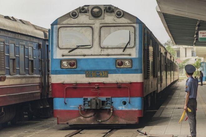 Ταξίδι με τρένο στην πόλη Ho Chi Minh στο Βιετνάμ