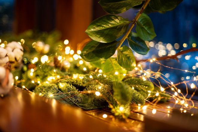 Χριστουγεννιάτικα λαμπάκια